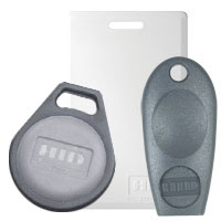 [Image of Key Card and Key Fob]